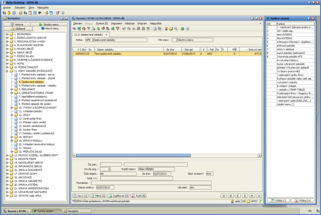 ApSo Desktop - ERP